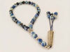 Worry Beads Islamic Style with Blue Agate Stones