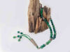 Worry Beads Prayer Beads Islamic Style with  Green Agate Stones
