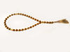 Worry Beads Prayer Beads Islamic Style with  Matte Tiger Eye Stones. Handmade