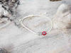 Red Evil Eye Owl Beige String