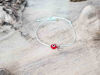 Red Evil Eye Petal Sky String