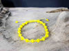 Macrame bracelet with Yellow string color
