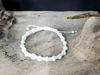 Macrame bracelet with White string color