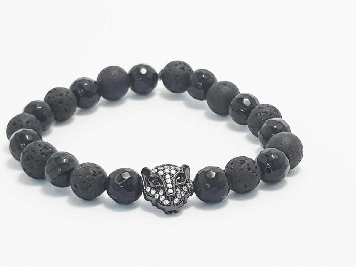 Lava Onyx black face
