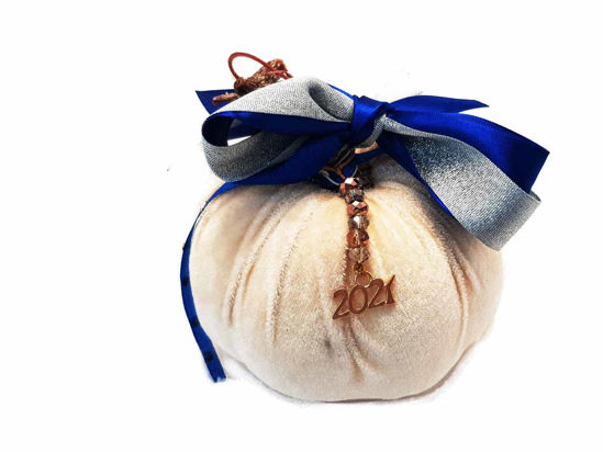White Big Christmas Pumpkin